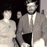 Barańczak and Merilyn Jackson at Drexel Poetry reading 1987